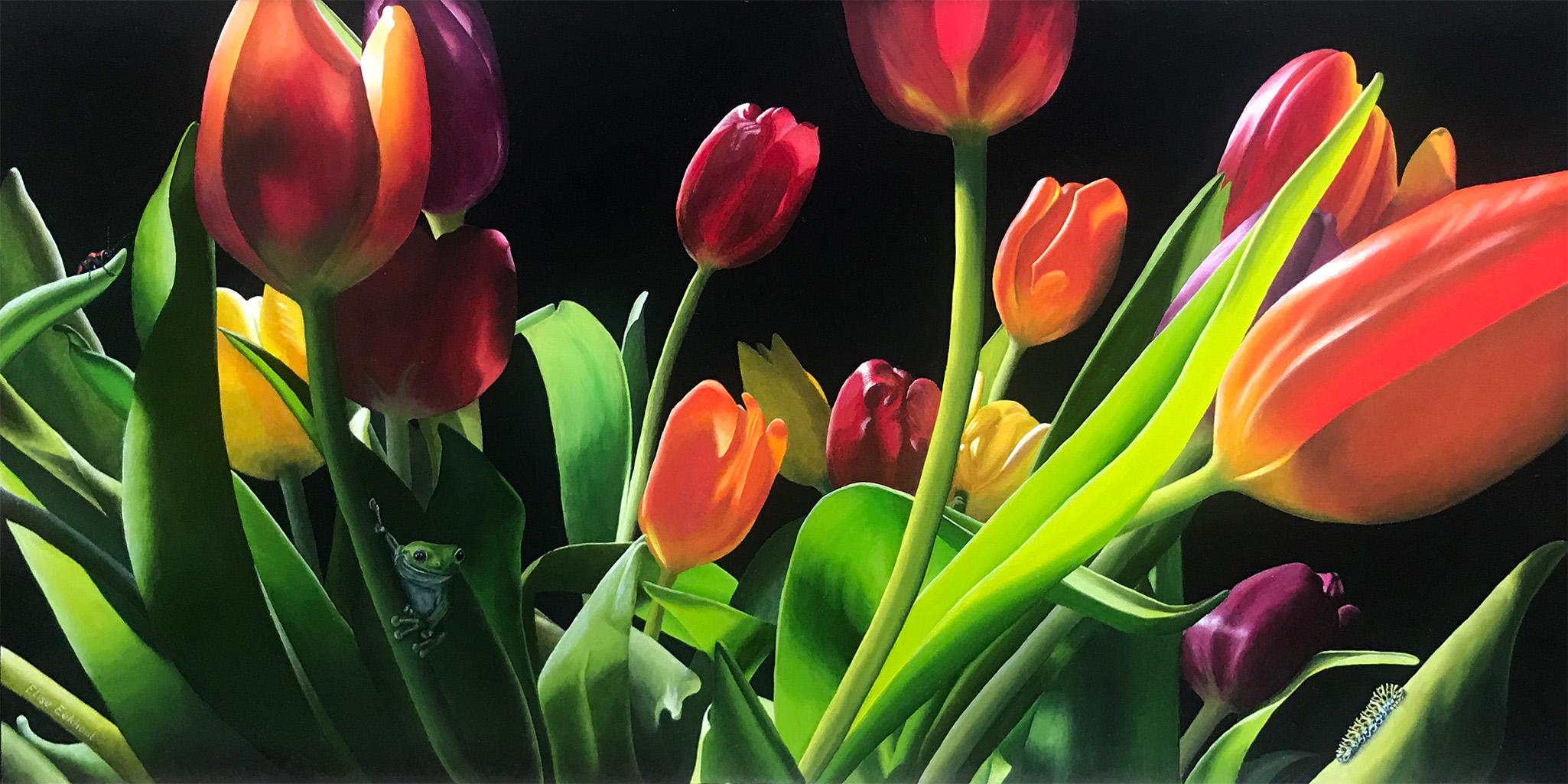 2 MAAL EE | Elise Eekhout | Flowers & Creatures | Tulips1