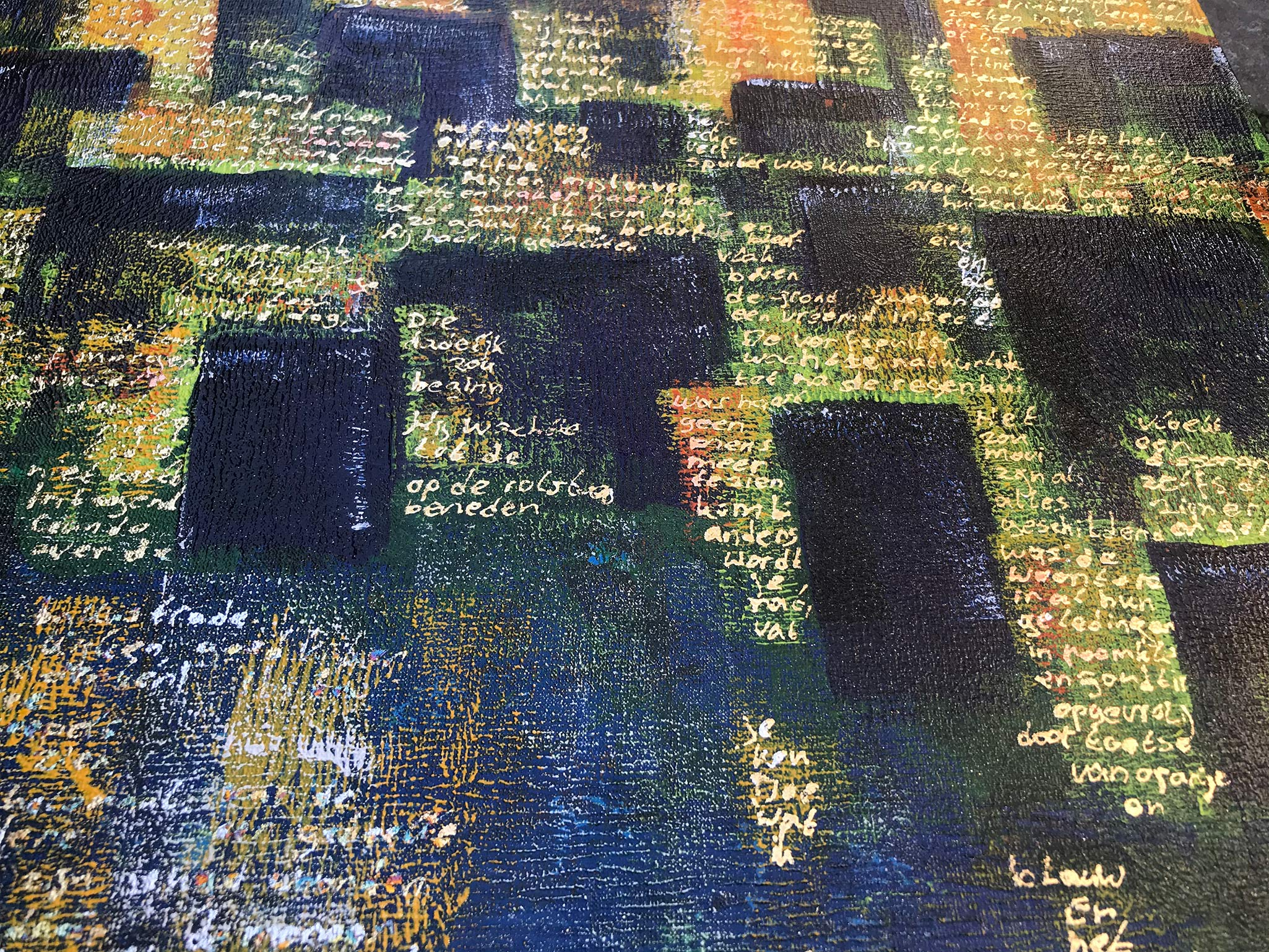 2 MAAL EE | Elise Eekhout | Corona Stories | Tranquil City 01 | detail