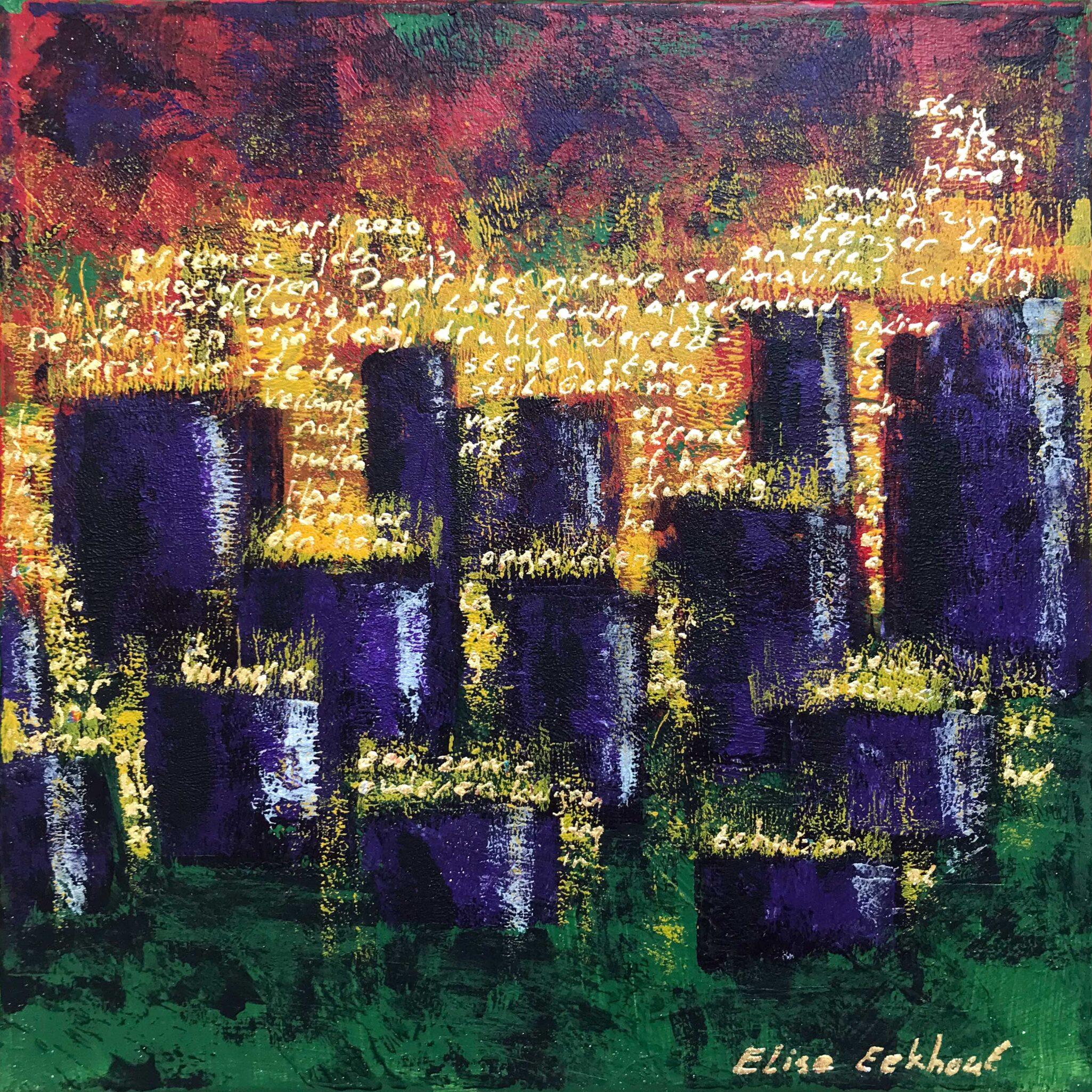 2 MAAL EE | Elise Eekhout | Corona Stories | Tranquil City 02