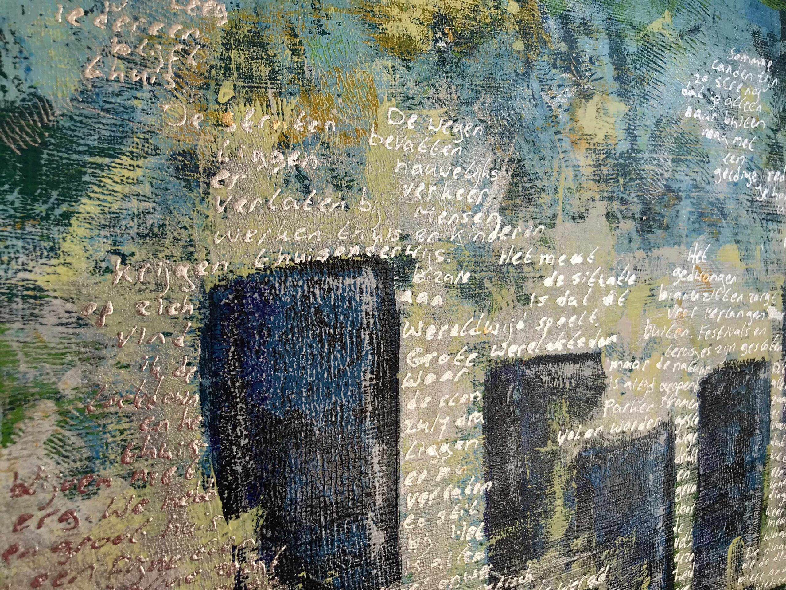 2 MAAL EE | Elise Eekhout | Corona Stories | Tranquil City 05 | detail