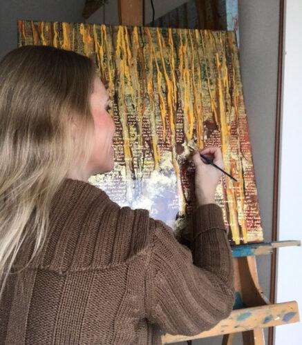 2 MAAL EE | Elise Eekhout | Corona Stories | Autumn 01 | painting