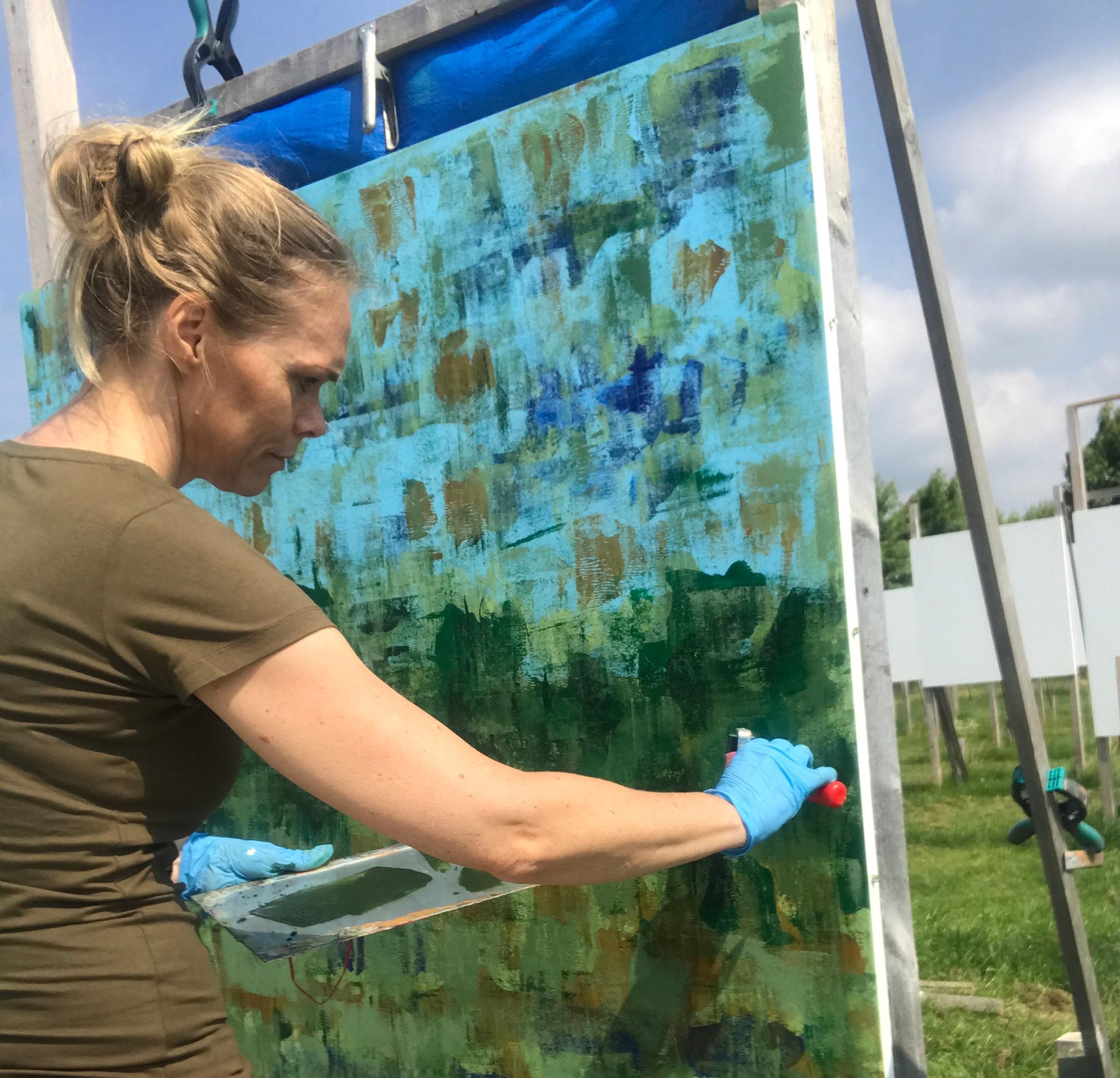 Elise Eekhout | The Colorfield Performance | journal