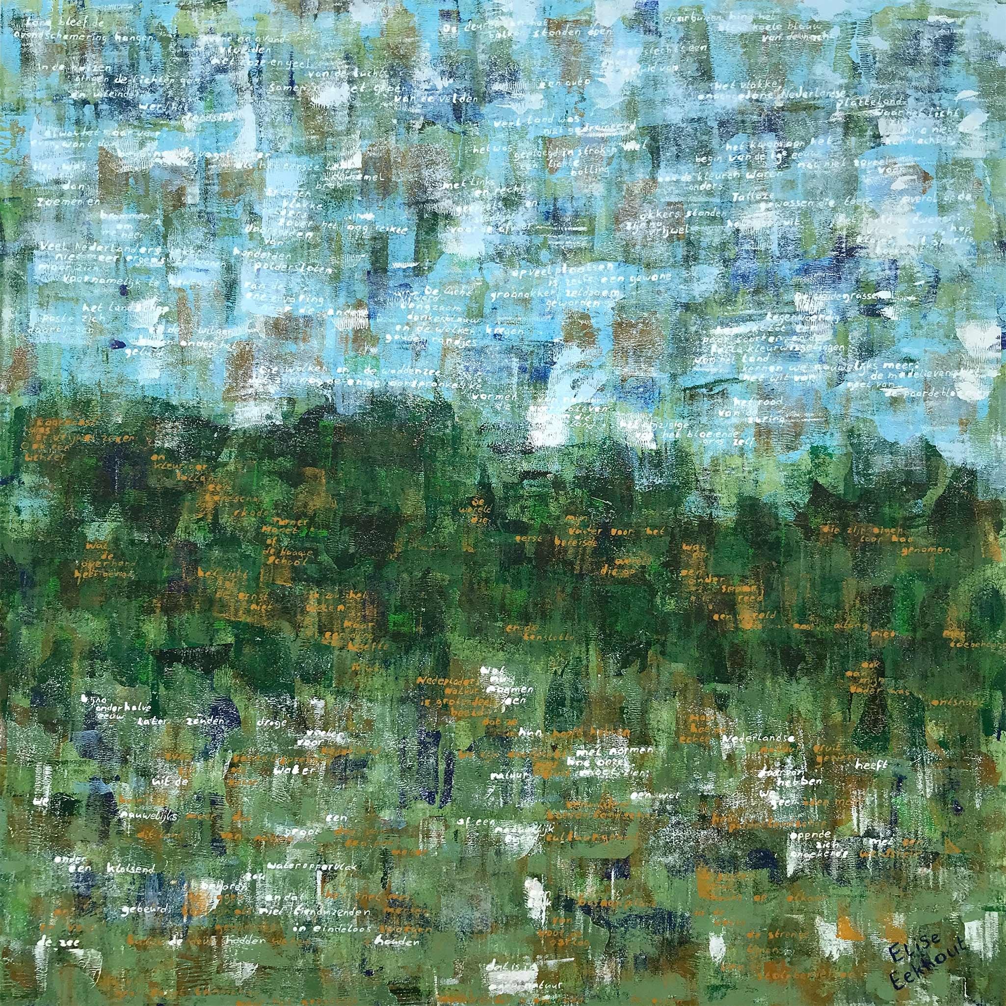 Elise Eekhout | The Colorfield Performance | Ontsnapte land 03